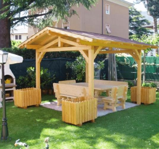 lavorazione legno trento arredo giardino legno trento